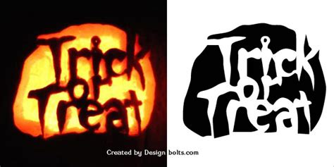 Trick Or Treat Pumpkin Carving Templates Free by 10 Free Halloween Scary Pumpkin Carving Stencils Patterns