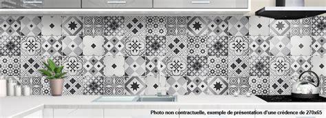 credence cuisine design crédence alu pour cuisine carreau de ciment