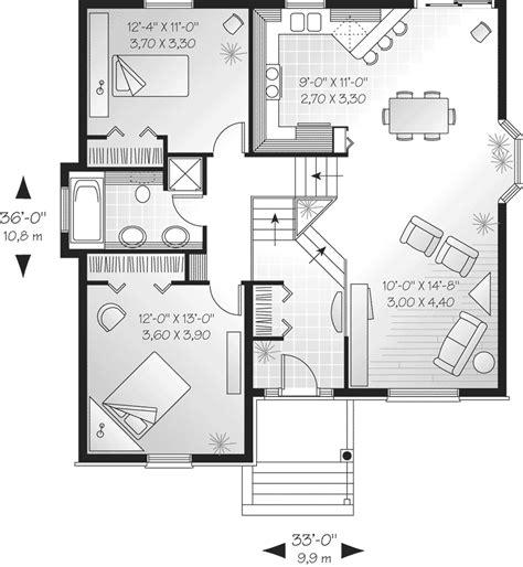 split level floor plans 1970 savona cliff split level home plan 032d 0189 house plans