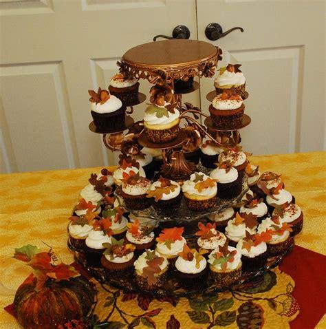 fall wedding cupcake tower flickr photo sharing