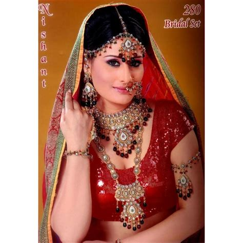 cuisine hindou acheter bijoux indien parure ensemble pour mariée 8 pièces