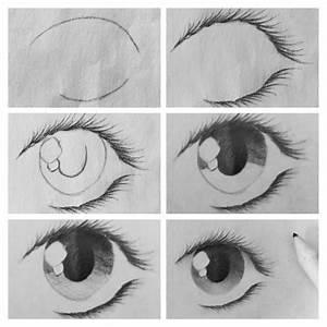 Dessin Facile Yeux : dessin yeux facile manga dessin de manga ~ Melissatoandfro.com Idées de Décoration