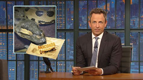 Watch Late Night with Seth Meyers Highlight: Bad Sponsors ...