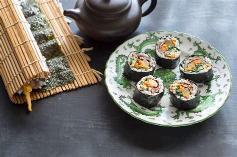 Korean Sushi Roll (kimbap) Recipe