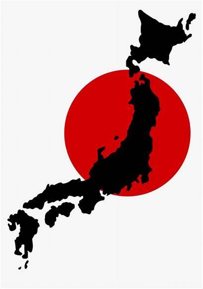 Japan Map Clipart Transparent Tokyo Flag Pngitem