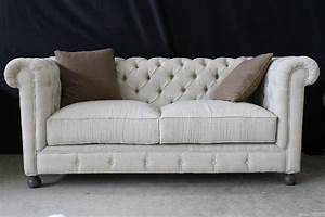 Chesterfield Sessel Stoff : pomp ses chesterfield sofa inkl kissen couch leinen stoff creme esr1001 nt1293 ebay ~ Markanthonyermac.com Haus und Dekorationen