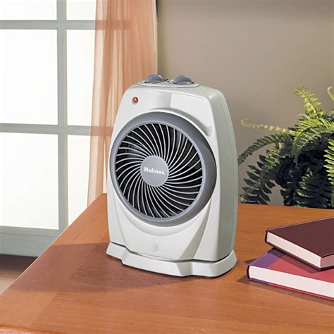 forced air fan holmes hfh421 nu pivoting heater fan with viziheat