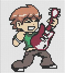 The Gallery For Minecraft Pixel Art Templates Hard Link