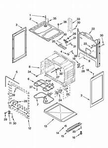 Chassis Parts Diagram  U0026 Parts List For Model Rf114pxsq1