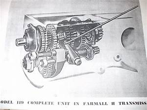Farmall H Transmission Diagram