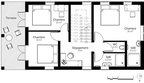 plan maison etage 4 chambres gratuit 100 maison simple plan maison gratuit grande maison
