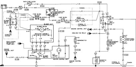 need wiring diagram for mazda miata ac system