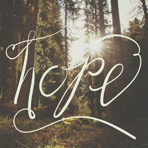 One Word: Hope