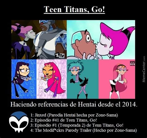 Teen Titans, Go!: Hentai References by elguru.delascartas.7 - Meme Center