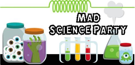 Mad Science Party Games, Ideas, Invitations, And Party
