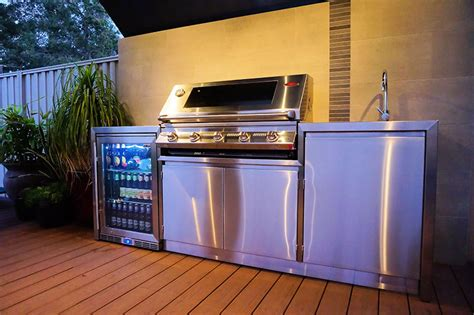 outdoor kitchen cabinets perth outdoor kitchens stainless steel bbqs alfresco areas 3839