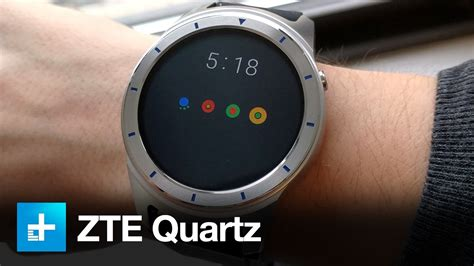 zte quartz smartwatch on review