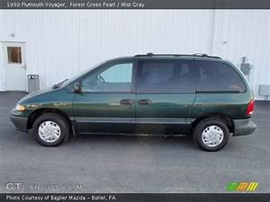 Forest Green Pearl - 1999 Plymouth Voyager