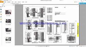 Caterpillar C32 Generator Set Electrical System Schematic Wiring Diagrams Manual Renr9855