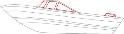 How To Draw A Speedboat by How To Draw Speedboats Howstuffworks