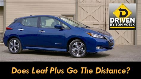 driven  nissan leaf  sl youtube