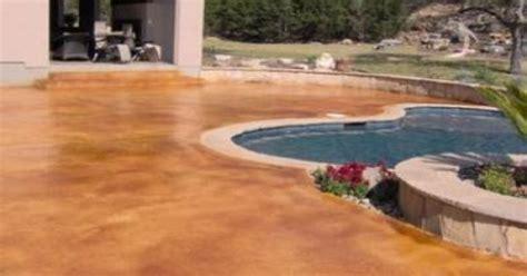 faux paint concrete patio painting contractor