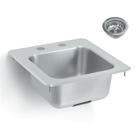 commercial sink strainer types vollrath k1554 c yukon bar waitress drop in sink faucet