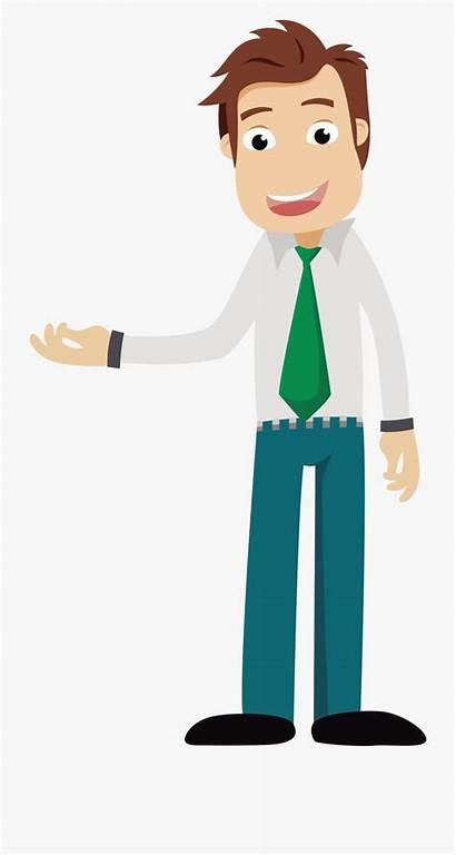 Clipart Business Person Businessman Clip Cartoon Tall