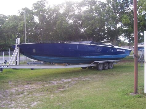 Show Me Pictures Of Boats by Don Aronow Cigarette Catamaran 39 Blue Thunder U S