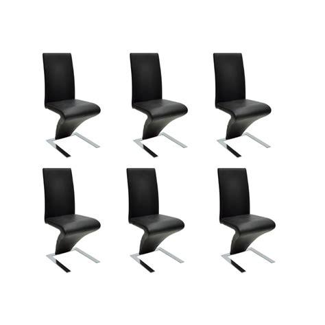 lot 6 chaises la boutique en ligne lot de 6 chaises noir vidaxl fr