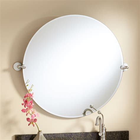 Tilting Bathroom Mirror by 32 Quot Houston Tilting Mirror Modern Bathroom
