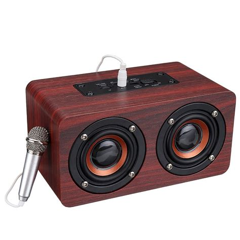 Buy the latest music box bluetooth gearbest.com offers the best music box bluetooth products online shopping. Wooden Stereo Bass bluetooth 4.2 Speaker Audio Music Box with Mini Microphone Computer ...