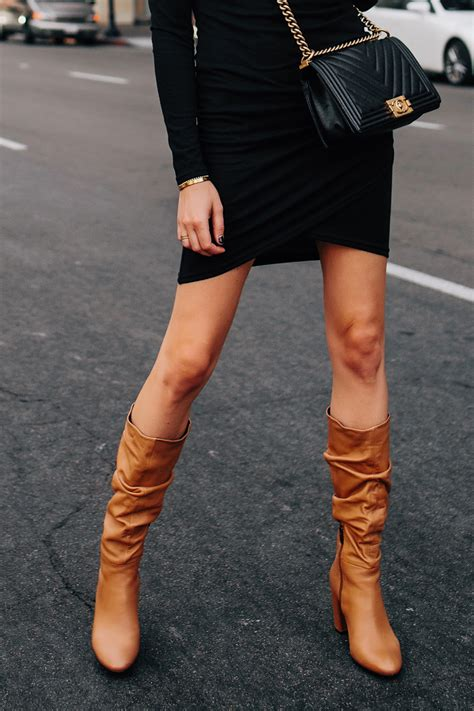 How Wear Tall Slouchy Boots For Fall Fashion Jackson