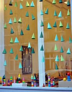 diy hanging window decorations that will brighten up your day With diy christmas curtains
