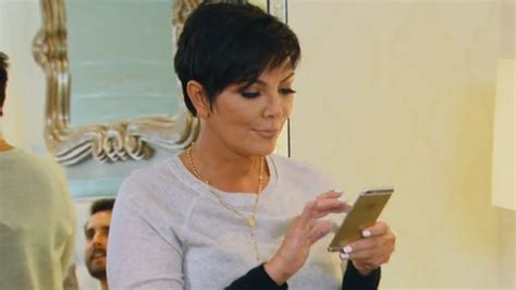 jenner phone kris jenner is thinking of changing name to
