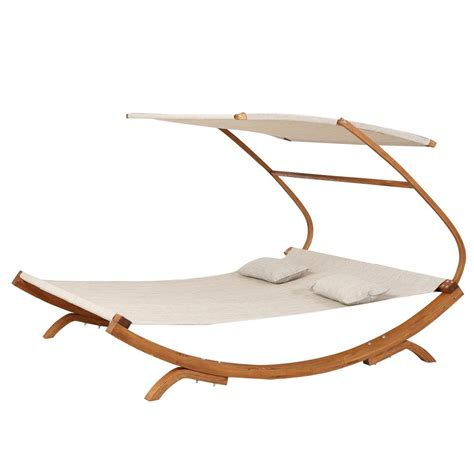 Free Standing Hammock by Noble House Marrakech 7ft Free Standing Outdoor Hammock
