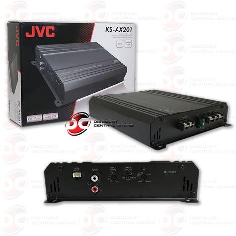 jvc ks ax car audio monoblock class ab  channel amp amplifier  rms ebay
