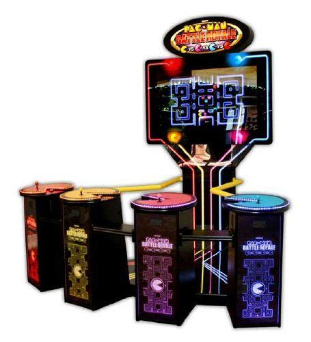 namco pacman battle royale deluxe arcade game machine