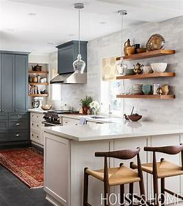 best 25 galley kitchen island ideas on pinterest With kitchen colors with white cabinets with long rectangular wall art
