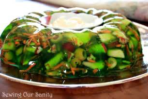 sewing our sanity green jello salad recipe a family favorite