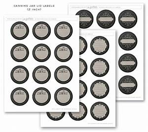 chalkboard canning freezer labels by lia griffith With canning jar lid labels
