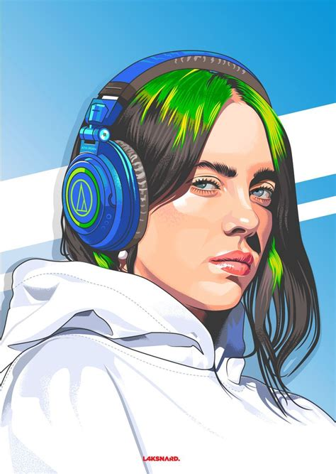 billie eilish animated wallpapers wallpaper cave