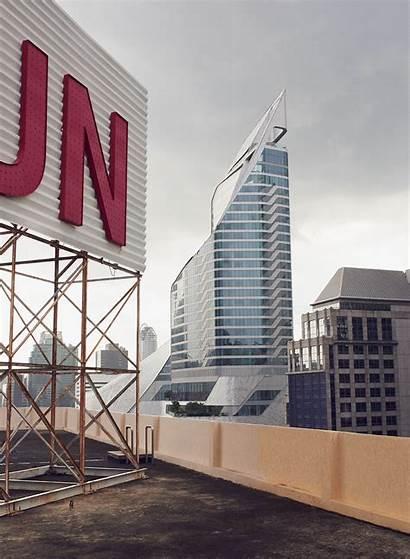 Thailand Revealed Bangkok Clad Embassy Landmark Aluminium