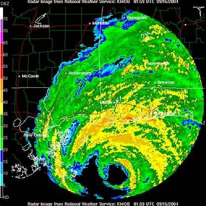 Ivan Hurricane Animated Landfall Radar Weather September
