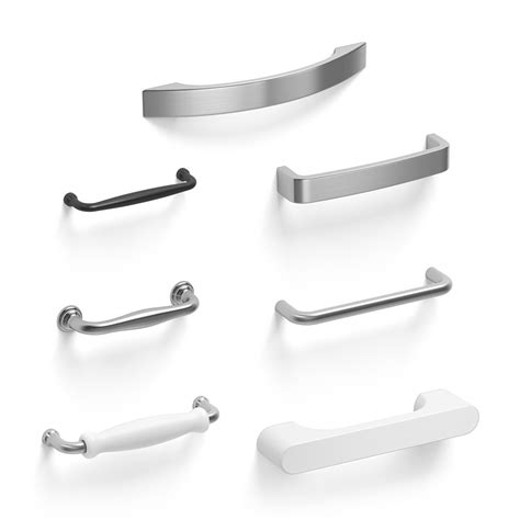 Kitchen Handles 3d Model by Cabinet Handles 3d Model