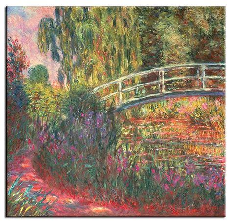 Giverny Monet Garten by Claude Monet Bilder Japanische Br 252 Cke Im Garten