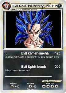 Pokémon Evil Goku lvl Infinity - Evil kamehameha - My ...