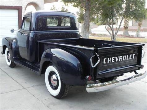 Find Used Chevy Stepside Pickup Truck Indigo