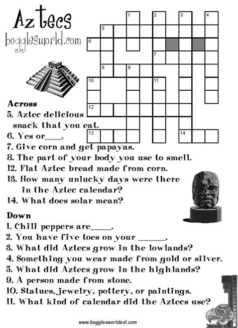aztec worksheet worksheets for all and
