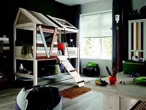 Lit Maison Enfant : retrouvez alfred compagnie sur le site marie claire ~ Farleysfitness.com Idées de Décoration